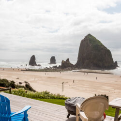 Haystack Rock on the Oregon Coast