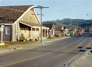 Downtown Cannon Beach 1970s