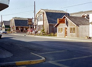 Sand Piper Square, Downtown Cannon Beach, 1970s